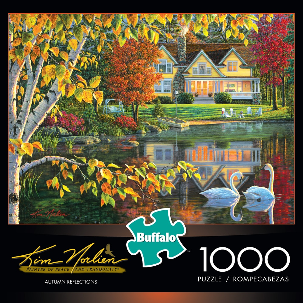 Kim Norlien: Autumn Reflections - 1000pc Jigsaw Puzzle by Buffalo Games