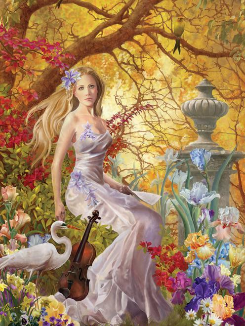 Nene Thomas: Lost Melody - 750pc Jigsaw Puzzle by Ceaco  			  					NEW