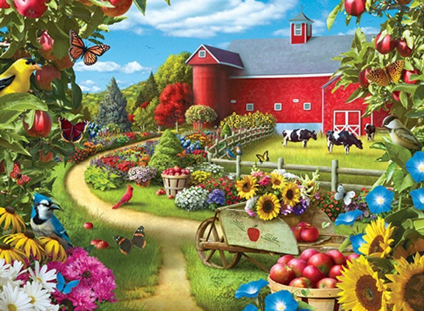 Corner of Your Life - 500pc Jigsaw Puzzle by Masterpieces  			  					NEW