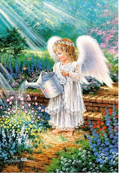 An Angel's Gift - 1000pc Jigsaw Puzzle By Castorland  			  					NEW