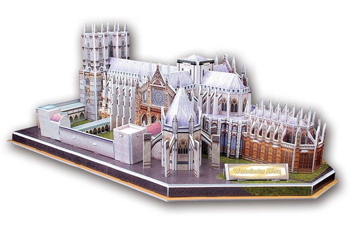 Westminster Abbey w/ Booklet - 145pc 3D Jigsaw Puzzle by Daron  			  					NEW