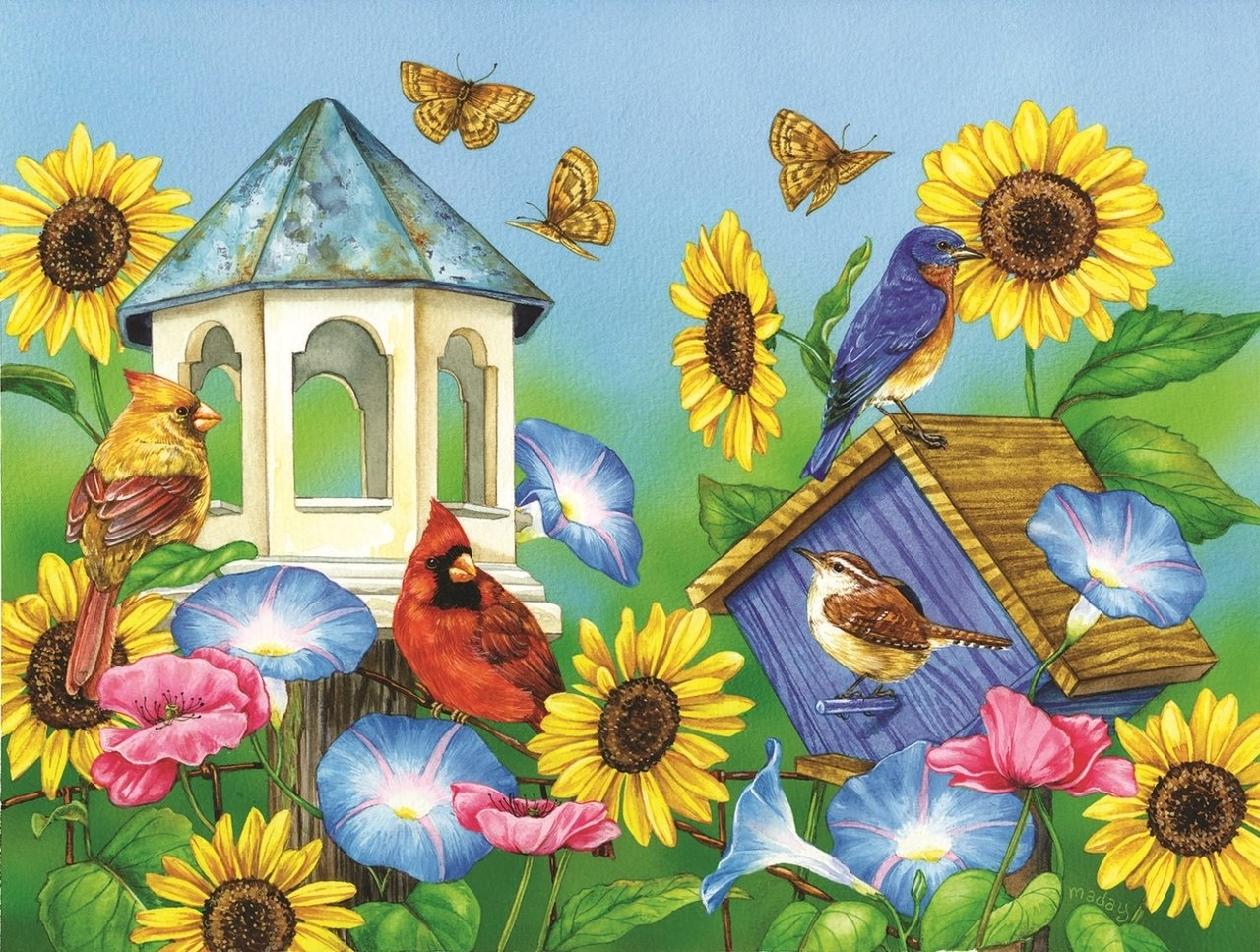 Days of Sun - 500pc Jigsaw Puzzle by Sunsout  			  					NEW