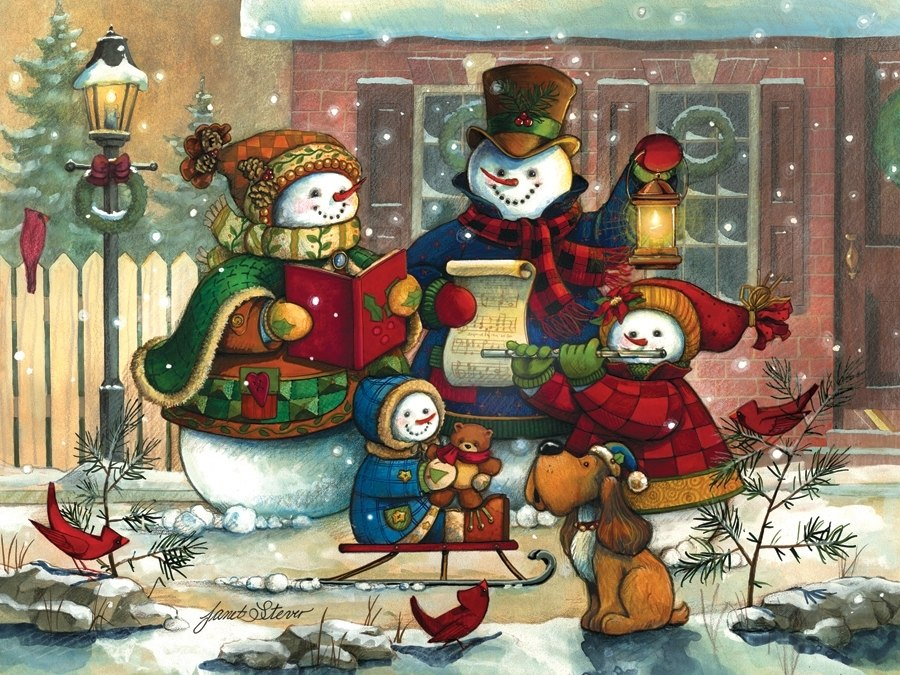 Song for the Season - 350pc Family Jigsaw Puzzle by Cobble Hill  			  					NEW