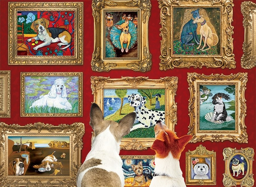 Dog Gallery - 1000pc Jigsaw Puzzle by Cobble Hill  			  					NEW