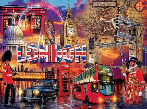 Cities: London - 1000pc Jigsaw Puzzle by Ceaco  			  					NEW