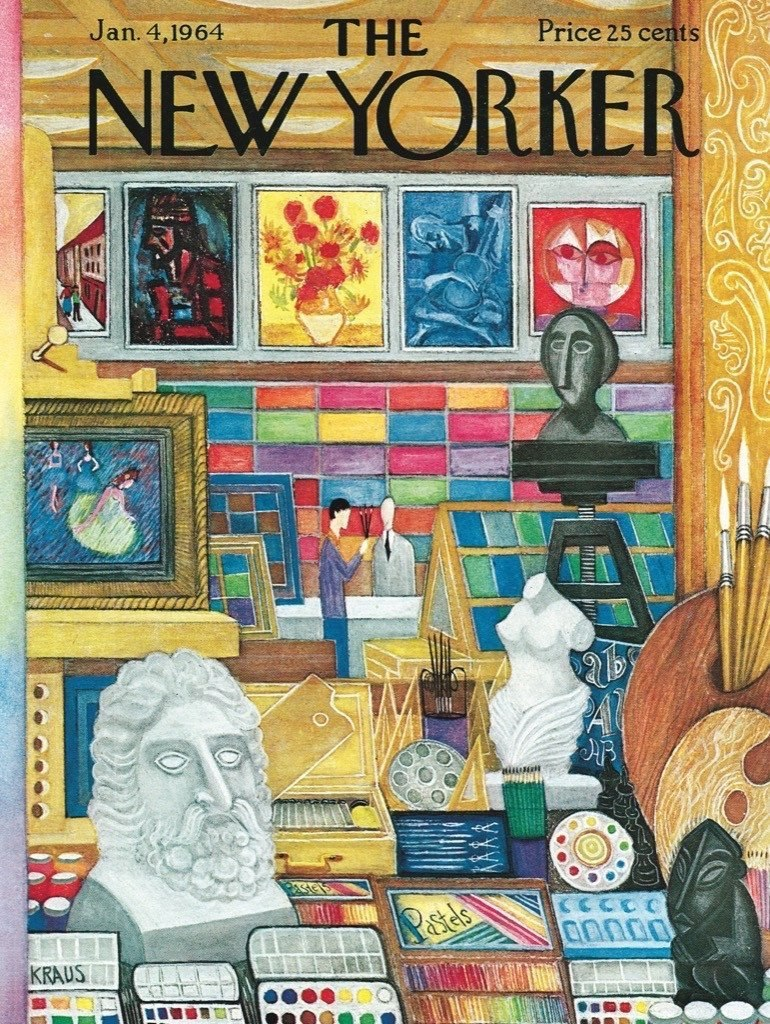 Art Shop - 1000pc Jigsaw Puzzle by New York Puzzle Company  			  					NEW