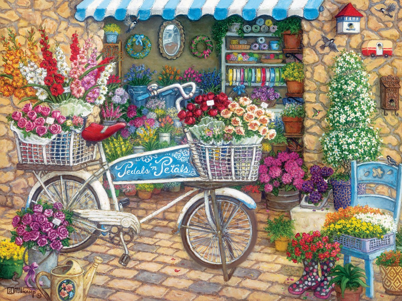 Pedals 'n' Petals - 275pc Easy Handling Puzzle by Cobble Hill  			  					NEW