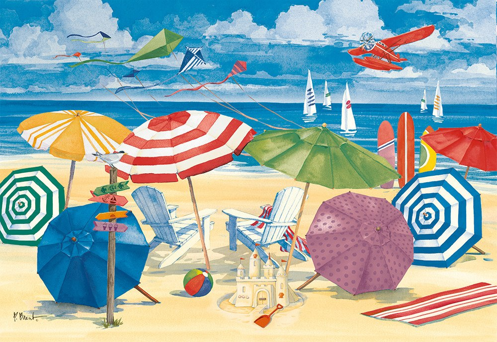 Meet me at the Beach - 300pc Large Format By Ravensburger  			  					NEW