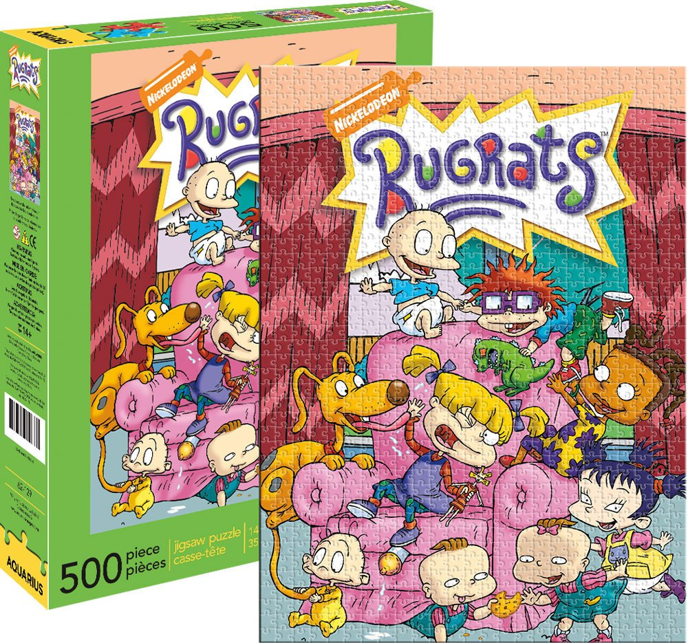 Rugrats - 500pc Jigsaw Puzzle by Aquarius  			  					NEW