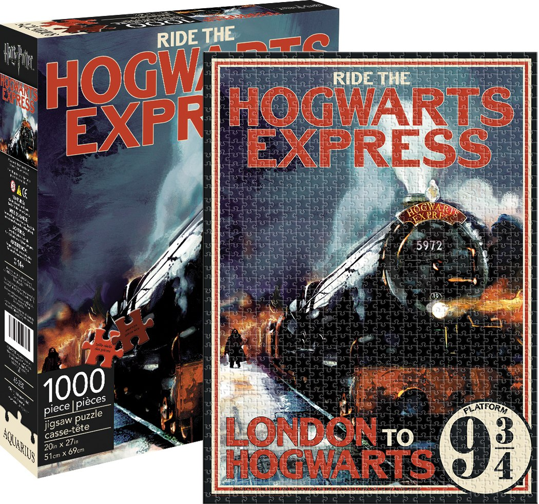 Harry Potter: Hogwarts Express - 1000pc Jigsaw Puzzle by Aquarius  			  					NEW