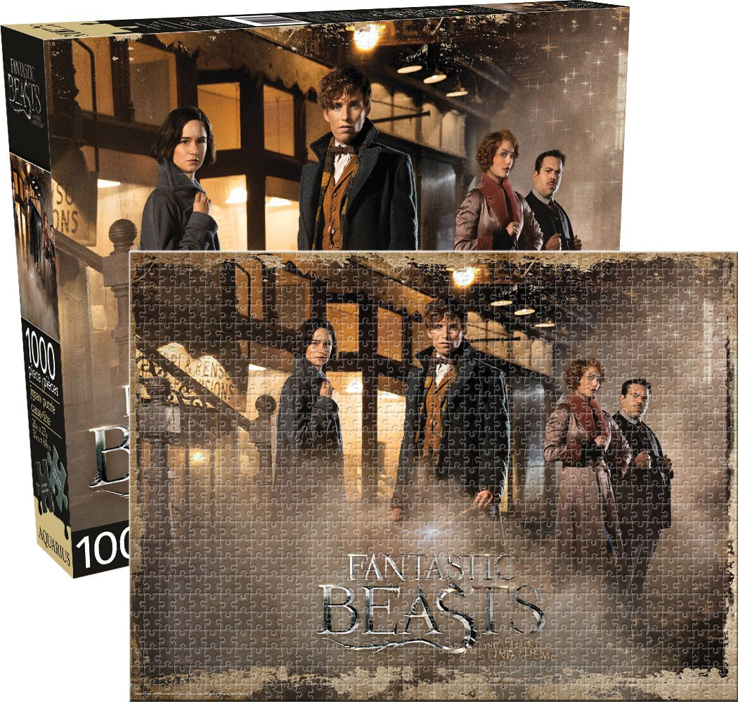 Fantastic Beasts - 1000pc Jigsaw Puzzle by Aquarius  			  					NEW