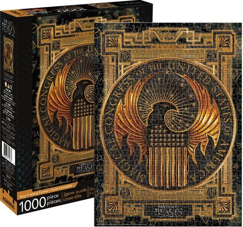 Fantastic Beasts: MACUSA - 1000pc Jigsaw Puzzle by Aquarius  			  					NEW