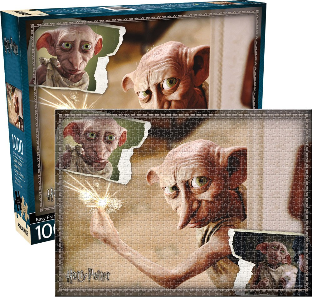 Harry Potter: Dobby - 1000pc Jigsaw Puzzle by Aquarius  			  					NEW