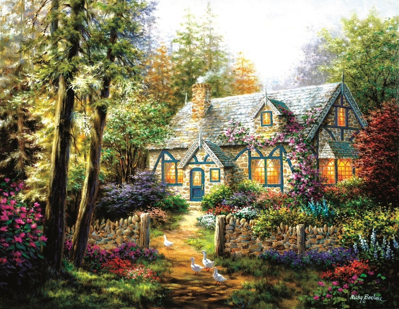 A Country Gem - 1000+pc Jigsaw Puzzle By Sunsout  			  					NEW