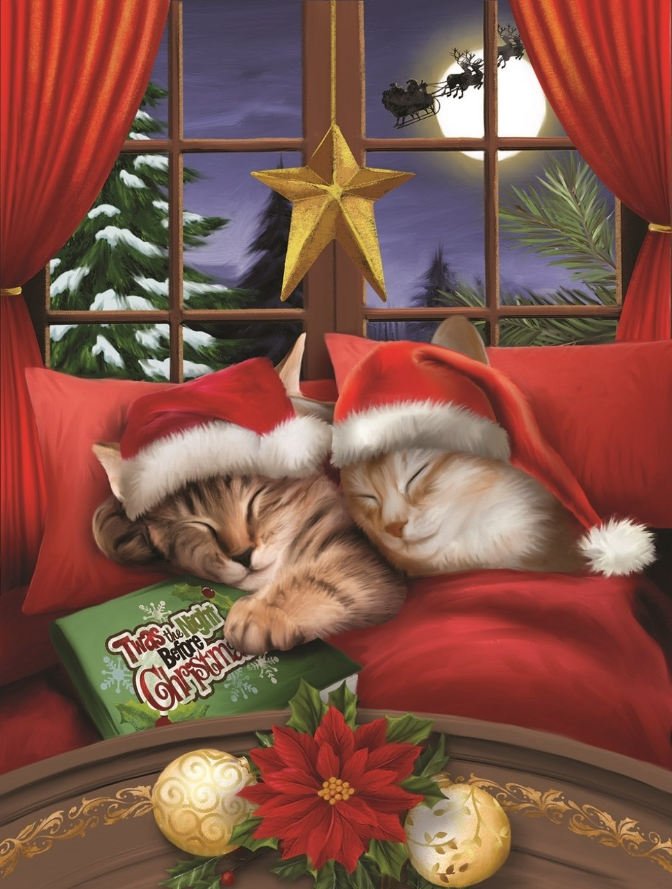 To All a Merry Christmas - 500pc Jigsaw Puzzle By Sunsout  			  					NEW