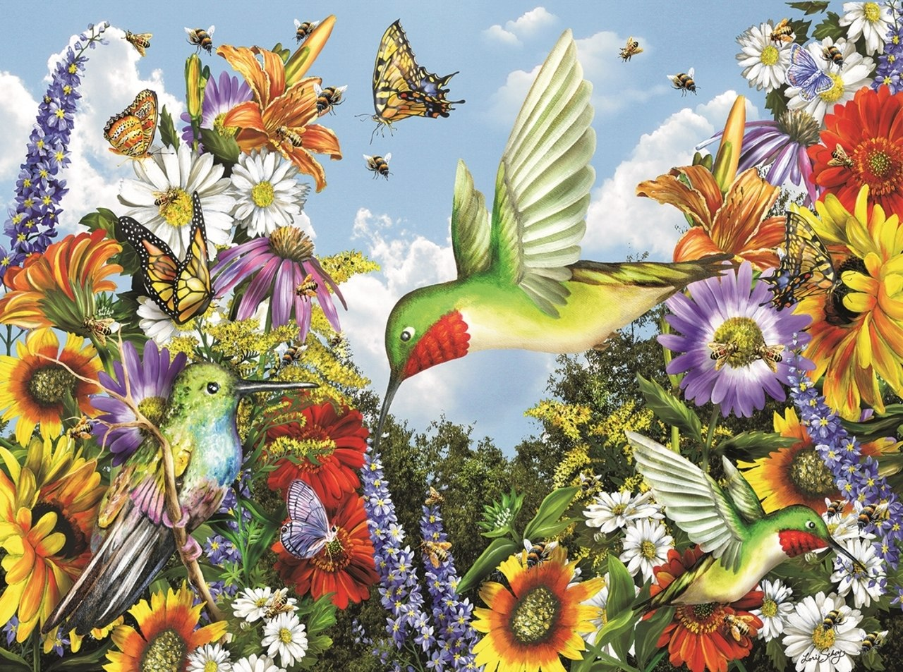 Save the Bees - 300pc Jigsaw Puzzle By Sunsout  			  					NEW
