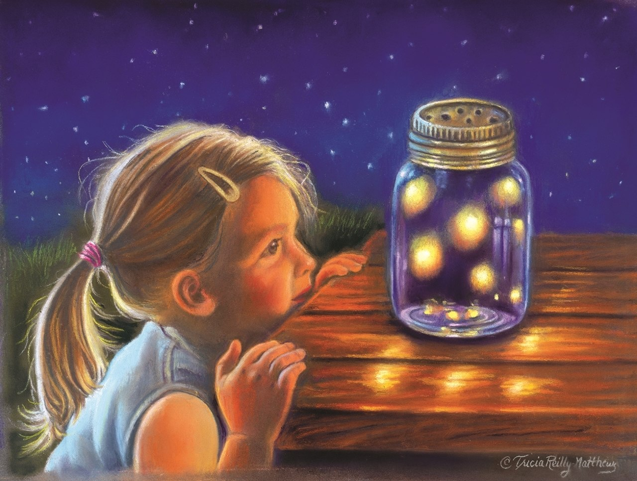 Magical Fireflies - 300pc Jigsaw Puzzle By Sunsout  			  					NEW