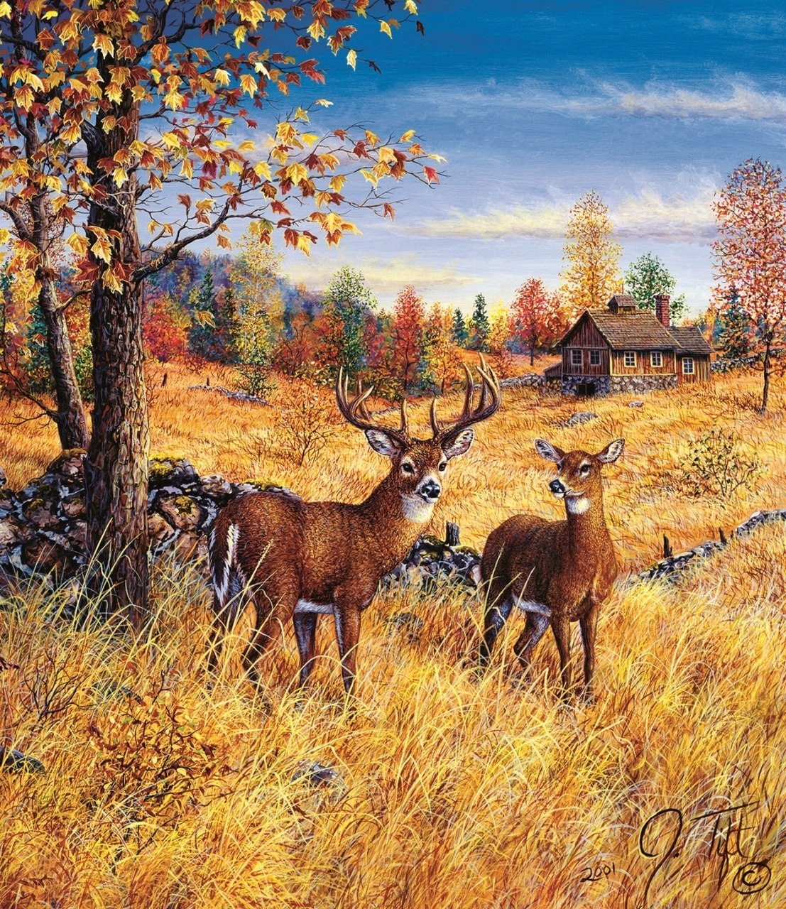 Colors of Autumn - 550pc Jigsaw Puzzle By Sunsout  			  					NEW