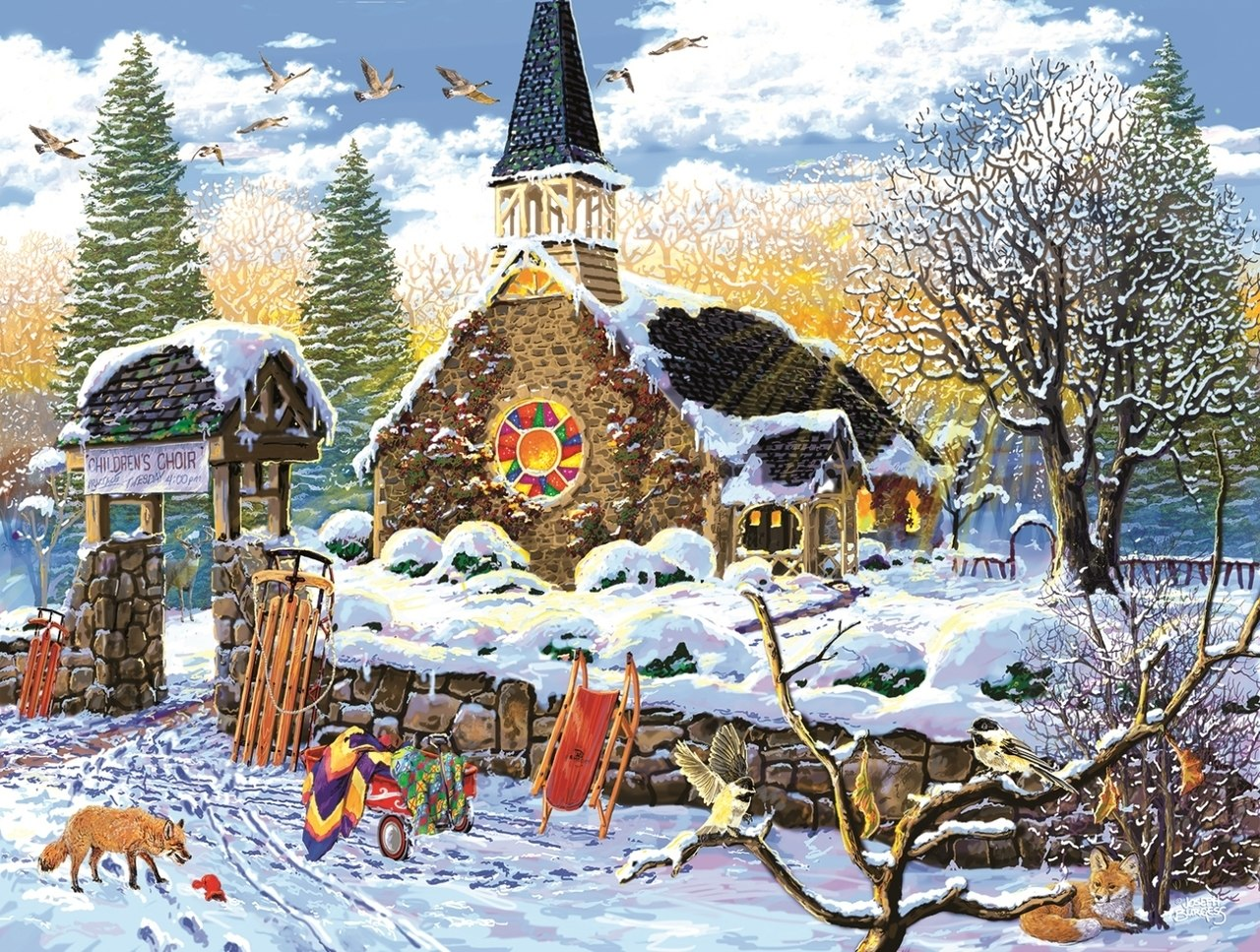 Children's Choir - 300pc Jigsaw Puzzle By Sunsout  			  					NEW
