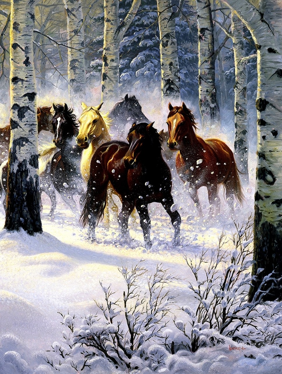 Snow Storm - 500pc Jigsaw Puzzle By Sunsout  			  					NEW