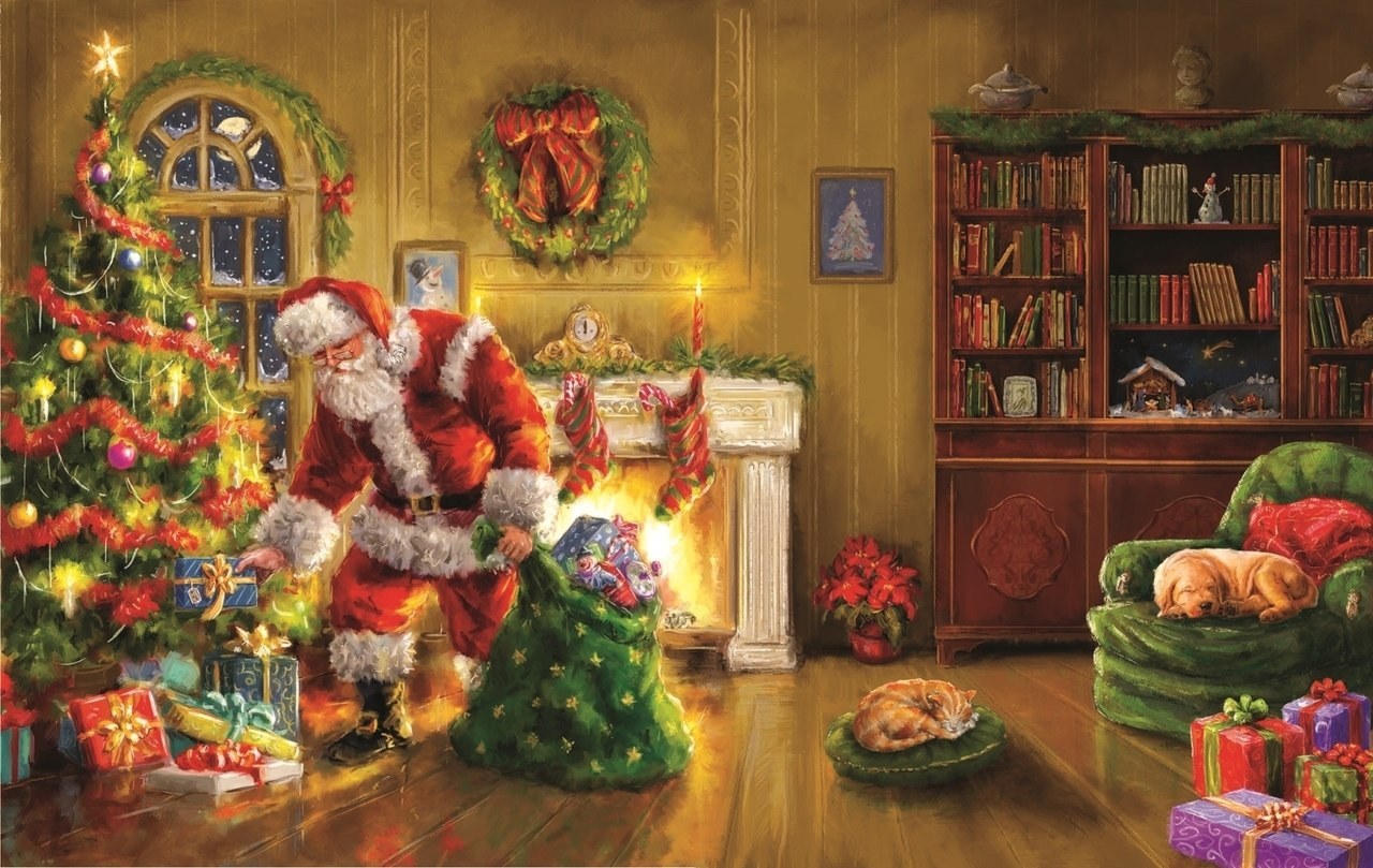 Santa's Special Delivery - 550pc Jigsaw Puzzle By Sunsout  			  					NEW