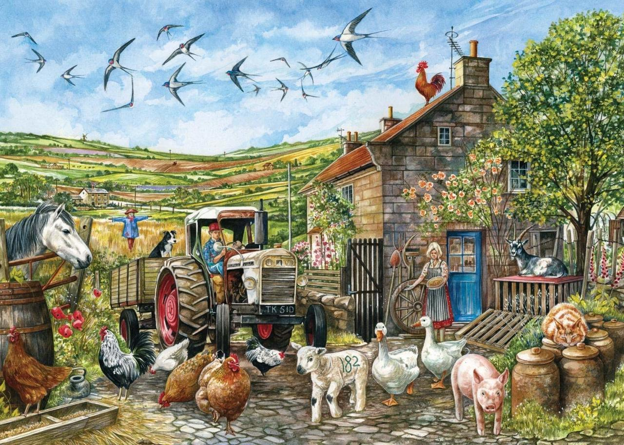 Another Day in the Dales - 1000pc Jigsaw Puzzle By Falcon  			  					NEW