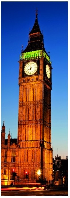 Big Ben - 1000pc Vertical Jigsaw Puzzle By Heye  			  					NEW