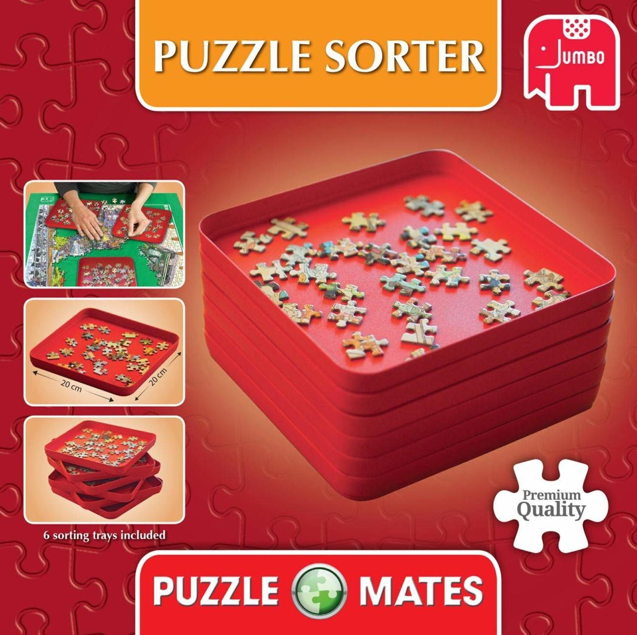 Puzzle Sorters - Jigsaw Puzzle Accessory By Jumbo