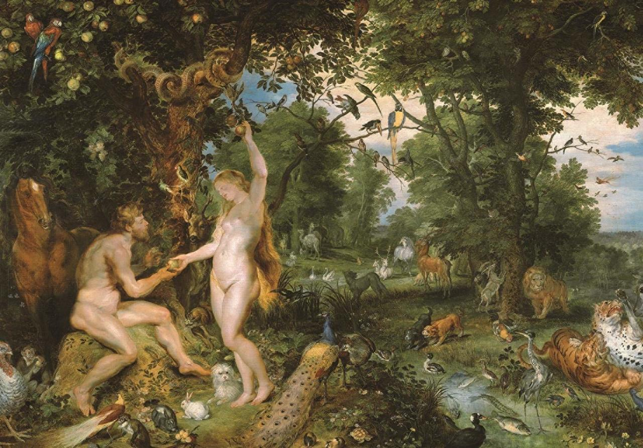 Rubens: Garden of Eden - 3000pc Jigsaw Puzzle By Jumbo  			  					NEW