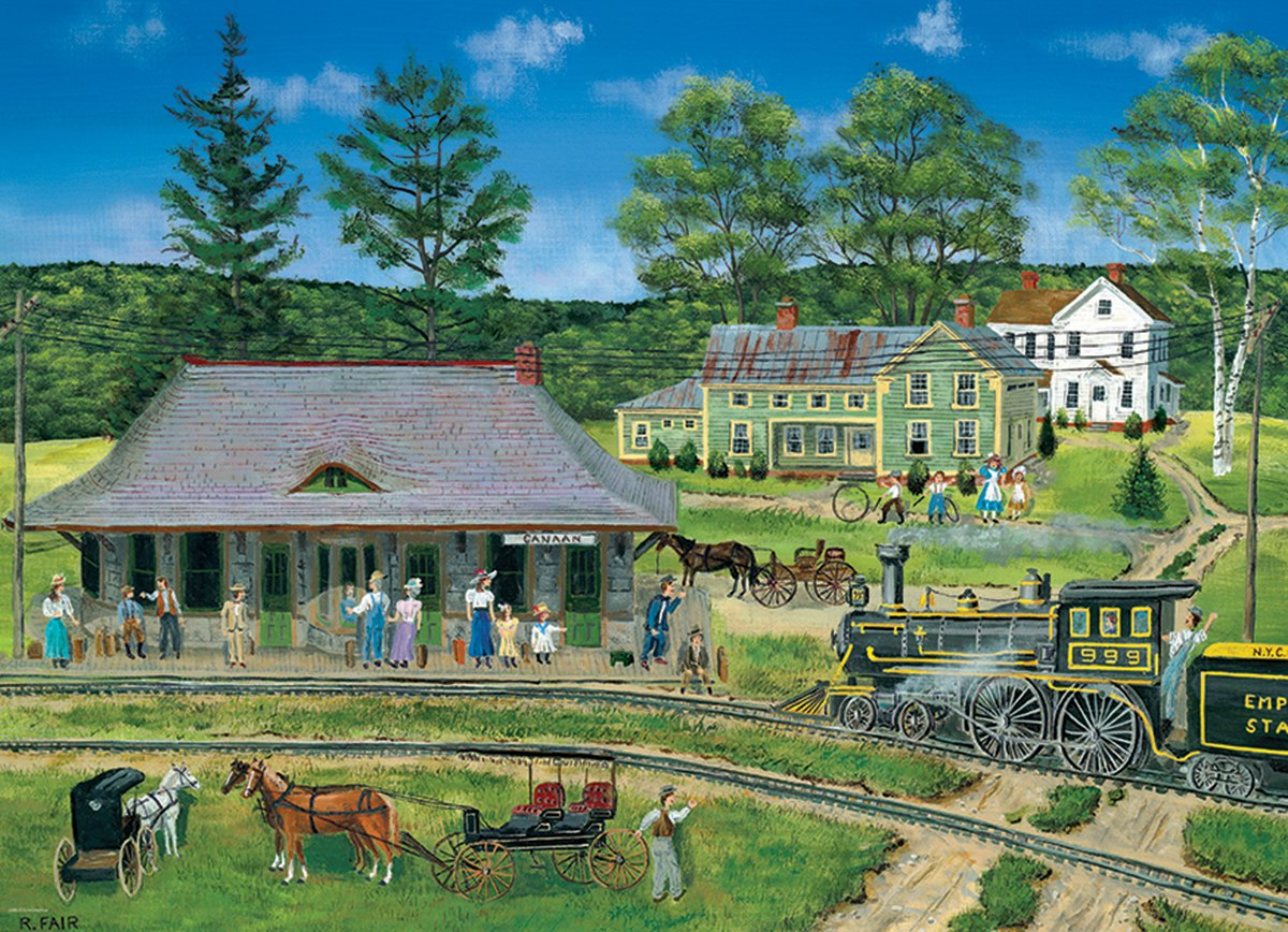 Fair: Canaan Station - 300pc Jigsaw Puzzle by Eurographics  			  					NEW