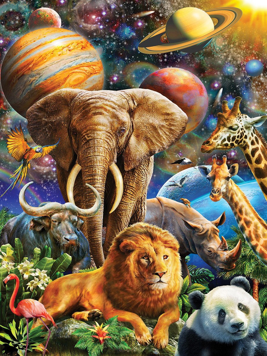 Universal Beauty - 300pc Jigsaw Puzzle by White Mountain  			  					NEW