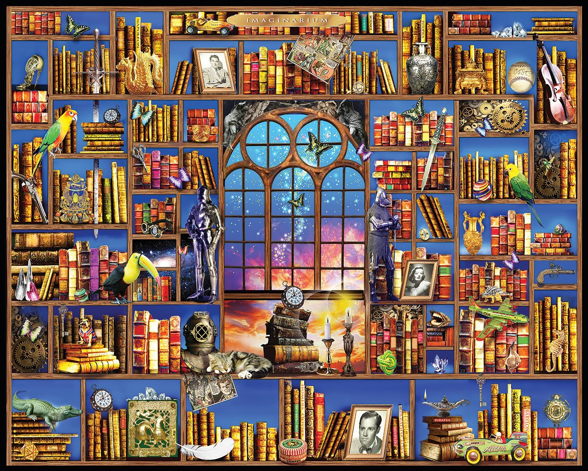 Imaginarium - 1000pc Jigsaw Puzzle by White Mountain  			  					NEW