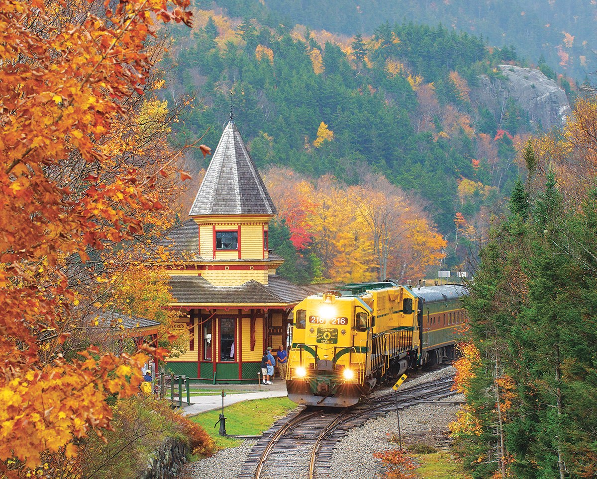 Scenic Railroad - 1000pc Jigsaw Puzzle by White Mountain  			  					NEW