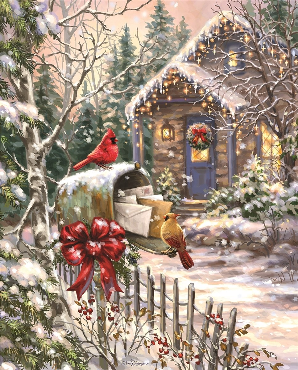 Cardinal Cottage - 1000pc Jigsaw Puzzle By Springbok  			  					NEW