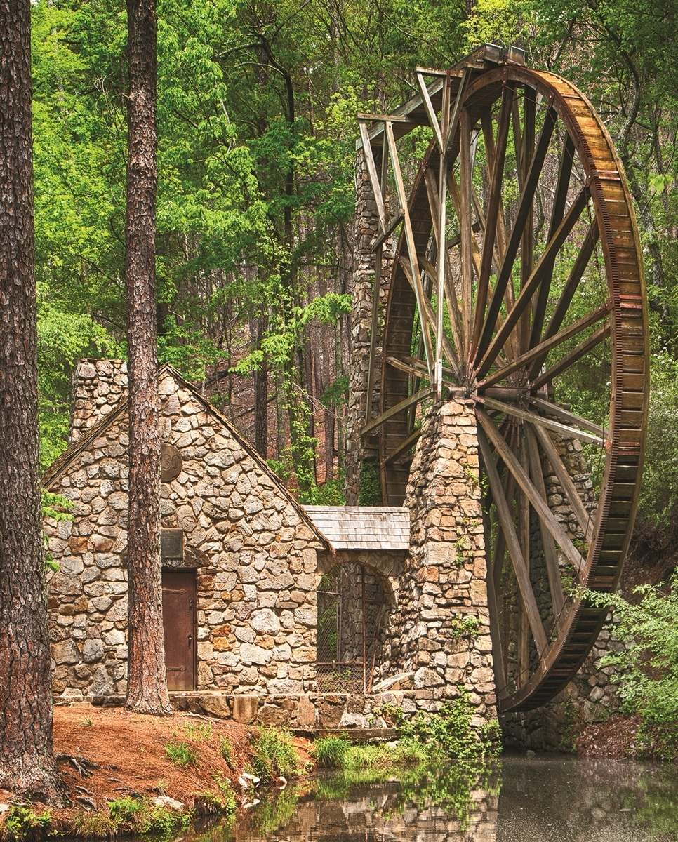 Water Wheel - 36pc Jigsaw Puzzle By Springbok  			  					NEW