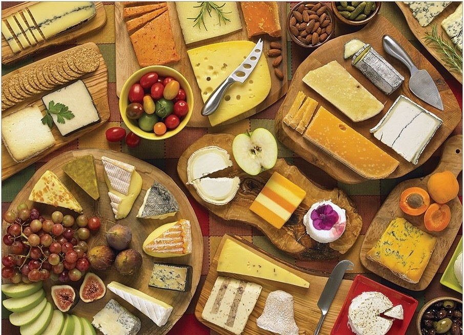 More Cheese Please - 1000pc Jigsaw Puzzle by Cobble Hill  			  					NEW