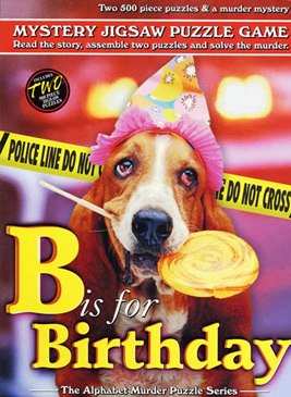 B is for Birthday - 2 x 500pc TDC Mystery Jigsaw Puzzle - image main