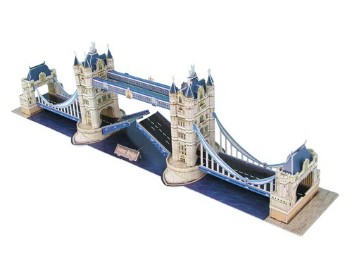 London Tower Bridge - 118pc 3D Jigsaw Puzzle by Daron