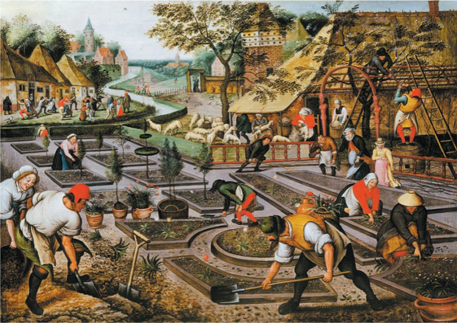 Spring: Breughel - 1000pc Jigsaw Puzzle by D-Toys