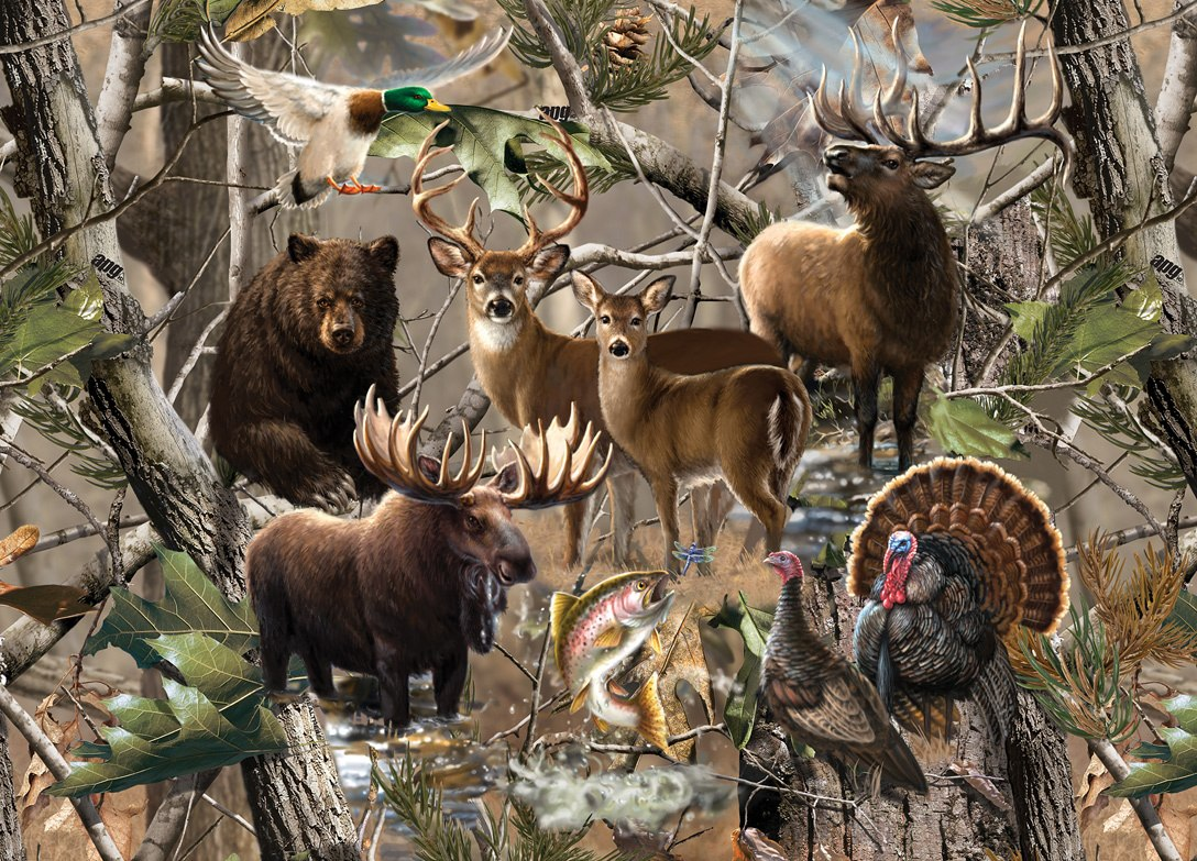Realtree: Open Season - 1000pc Jigsaw Puzzle by Masterpieces