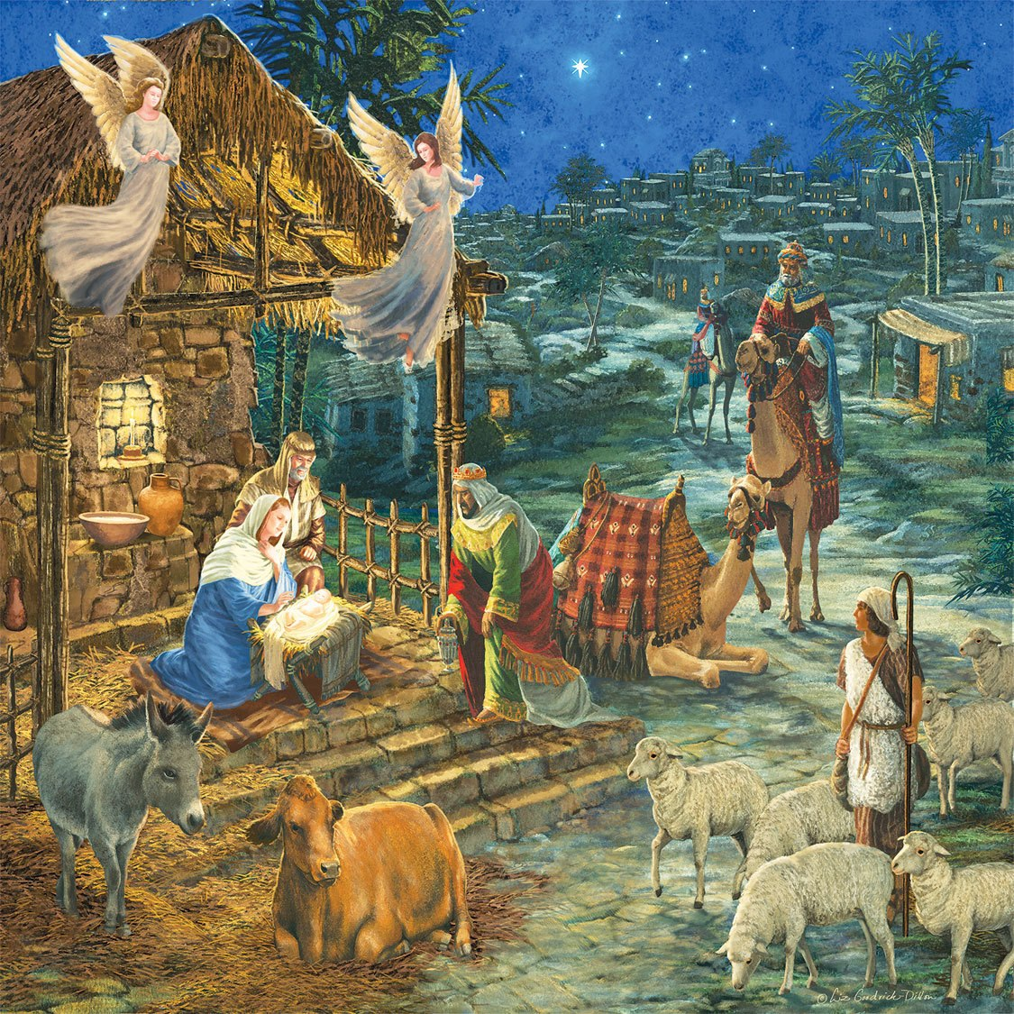 Visit to Bethlehem - 1000pc Jigsaw Puzzle by SunsOut