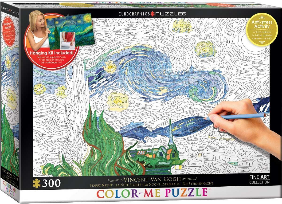 Van Gogh: Starry Night - 300pc Jigsaw Puzzle by Eurographics  			  					NEW