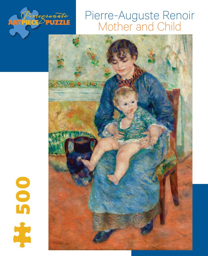 Renoir: Mother and Child - 500pc Jigsaw Puzzle by Pomegranate