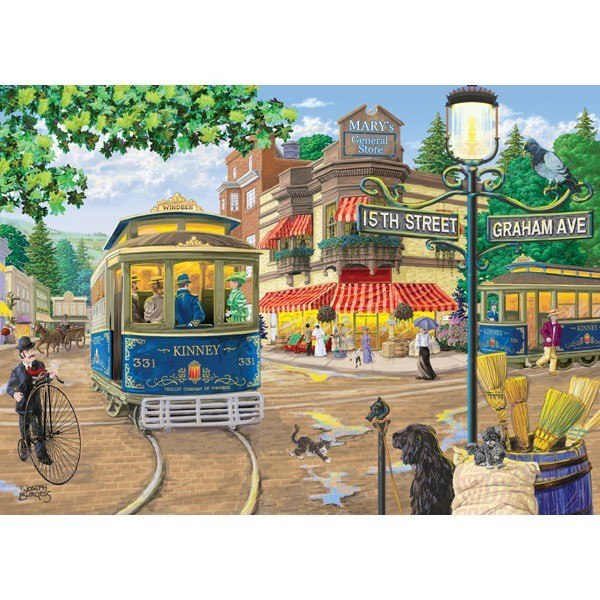 Main Streets: Mary General Store - 1000pc Jigsaw Puzzle by Holdson  			  					NEW