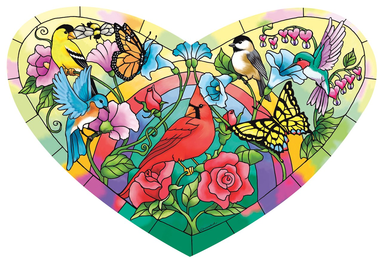 Heart of the Garden - 200pc Jigsaw Puzzle By Sunsout  			  					NEW