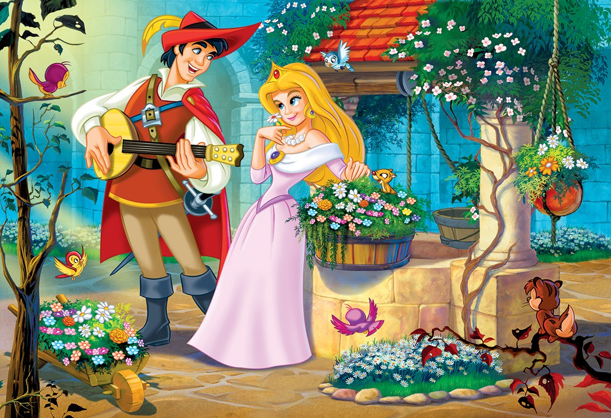 Princess Song - 100pc Jigsaw Puzzle by Eurographics  			  					NEW