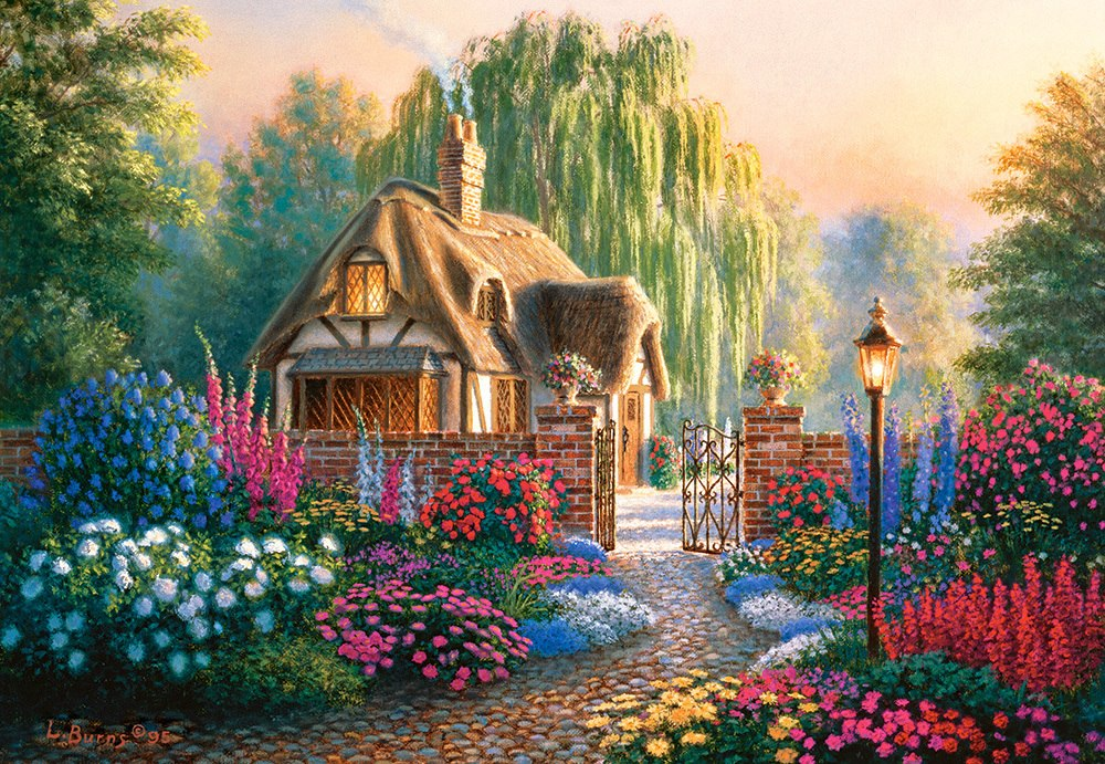 Cranfield Gardens - 1000pc Jigsaw Puzzle By Castorland  			  					NEW