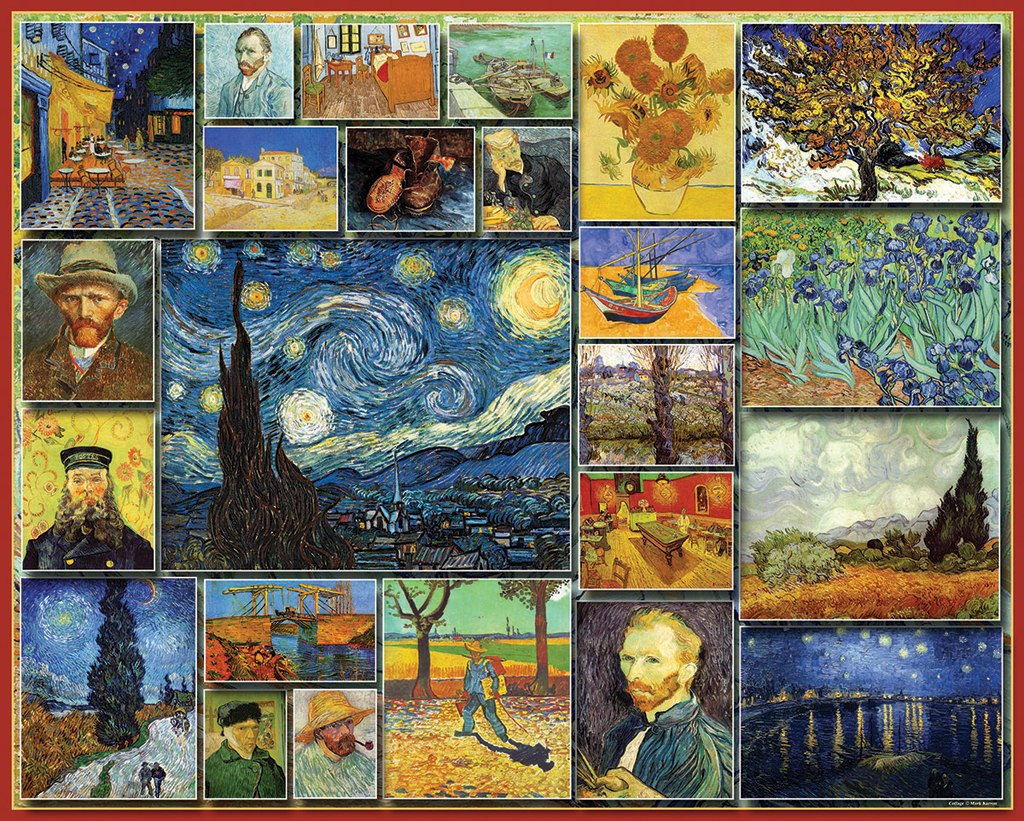 Vincent van Gogh - 1000pc Jigsaw Puzzle By White Mountain - image main