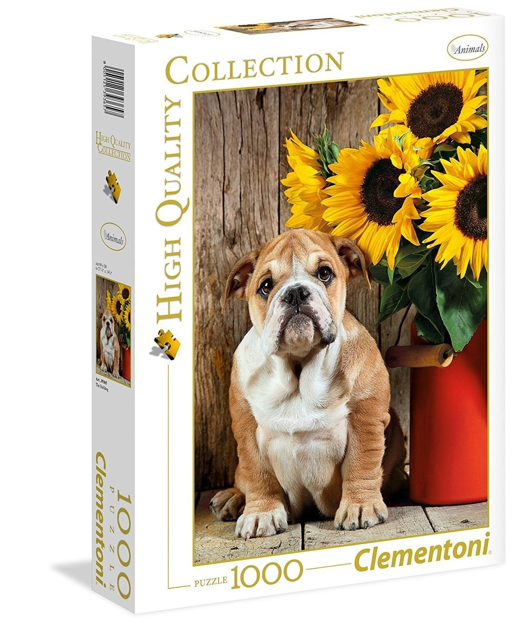 The Bulldog - 1000pc Jigsaw Puzzle by Clementoni - image 1