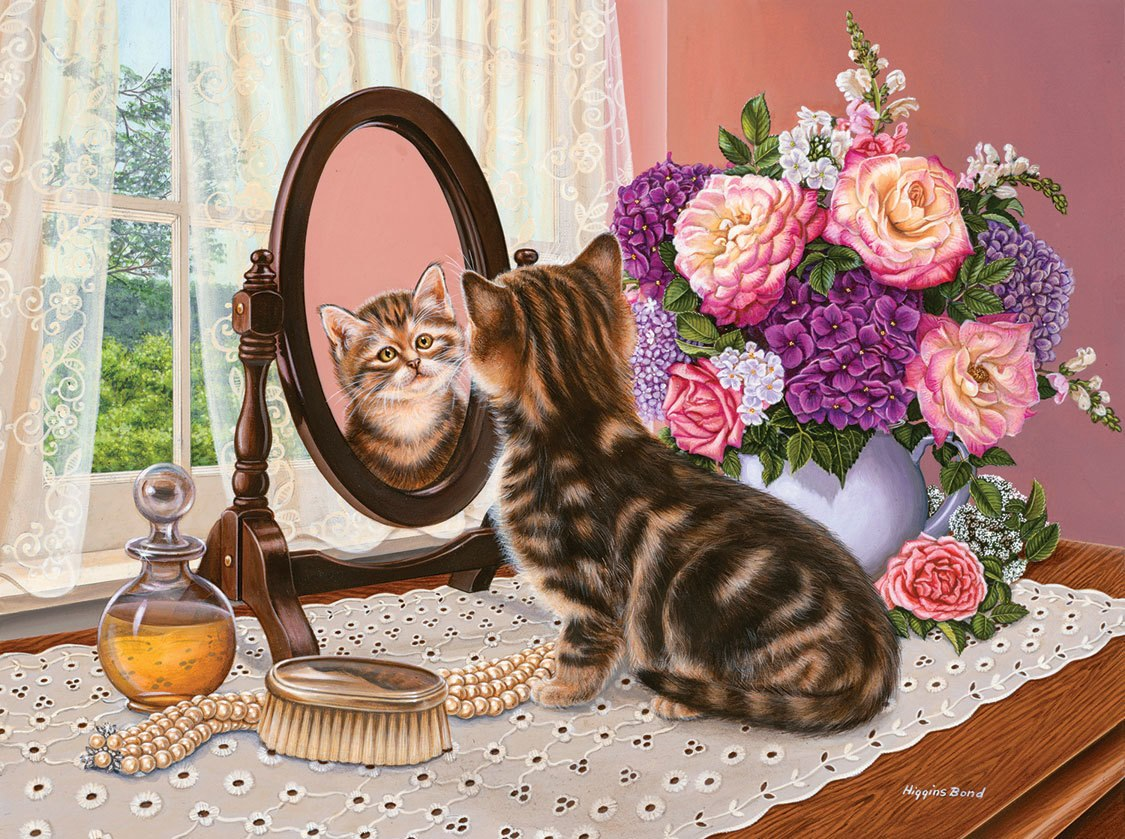 Mirror Image - 1000pc Jigsaw Puzzle by SunsOut